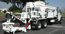 Cementech MCD8-100RM with integrated concrete pump